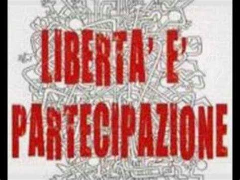 la libertã testo papaleo giorgio gaber la libert 224
