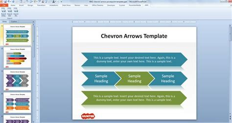 powerpoint chevron template logistics workflow diagram logistics free engine image