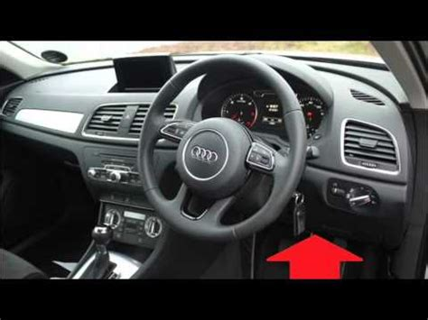 audi q3 diagnostic obd2 port location video youtube