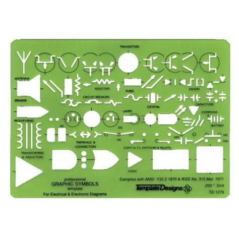 Electronic Templates alvin electric electronic template td1279