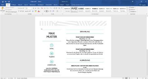 Word Design Vorlagen Erstellen lebenslauf mit word erstellen kostenlose vorlagen