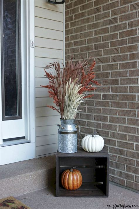 awesome fall front porch decor ideas   home