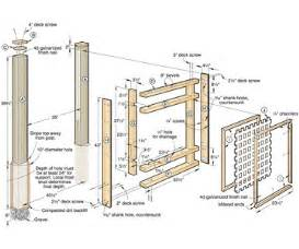 blueprints to build a house how to build fence using wood fence plans thats my house