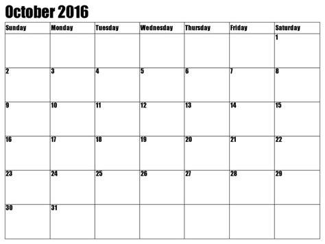 printable calendar 2016 waterproof 38 best 2016 october calendar images on pinterest 2016