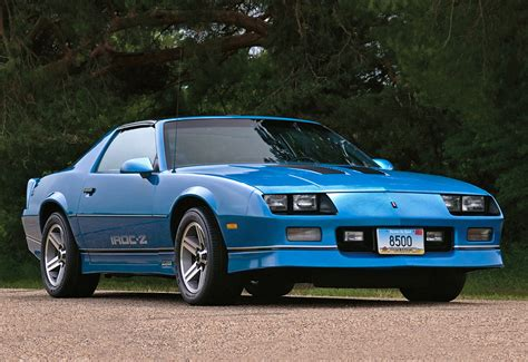 1986 camaro z28 value 1986 chevrolet camaro z28 iroc z specifications photo