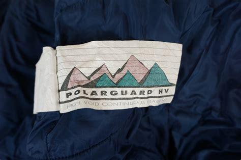Sleeping Bag Polar Tebal Dacron the polarguard hv blue sleeping bag complete with sack ebay