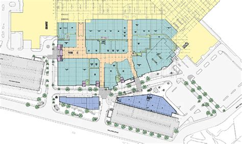 galleria mall layout buffalo richard l bowen associates inc gt projects gt retail