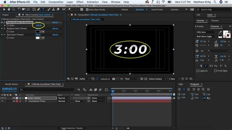 Free After Effects Countdown Timer Template Cmg Church Motion Graphics After Effects Countdown Template