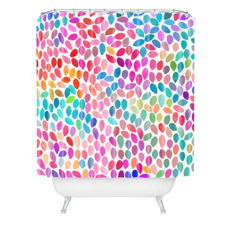 Rain 8 Shower Curtain By Deny Designs Rosenberryrooms Com