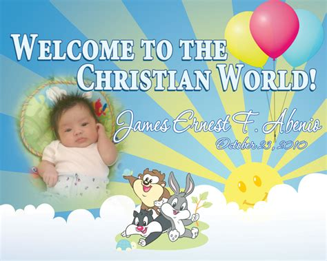layout design maker for tarpaulin invitation tarp james ernest baptismal filipino web