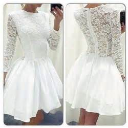 white lace splicing cutout back dress dresses party