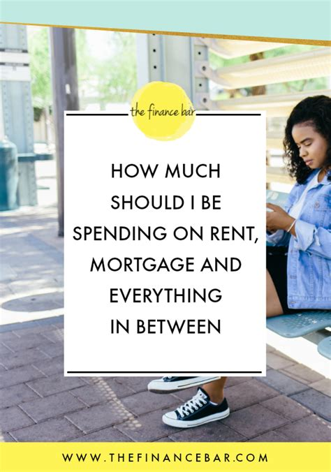 How Much Should An Mba Spend On Rent by How Much Should I Be Spending On Rent Mortgage And