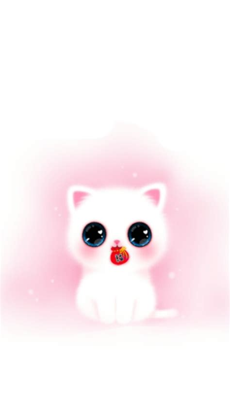 wallpaper iphone girly cute pink melody cat