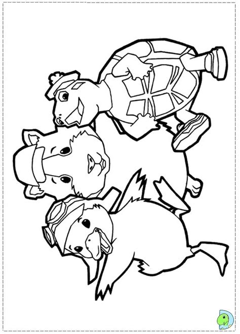 coloring pages wonder pets wonderpets free coloring pages