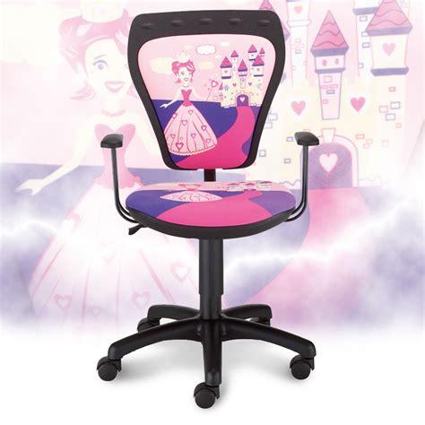 chaise de bureau pour fille enfants de chaise de bureau chambre princesse de fille