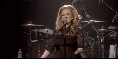 Adele Fire Hall   video adele performs quot set fire to the rain quot quot turning
