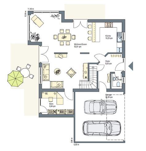 Stadtvilla Mit Doppelgarage Grundriss by Haus Wagner Architektenhaus Fertighaus Energiesparhaus