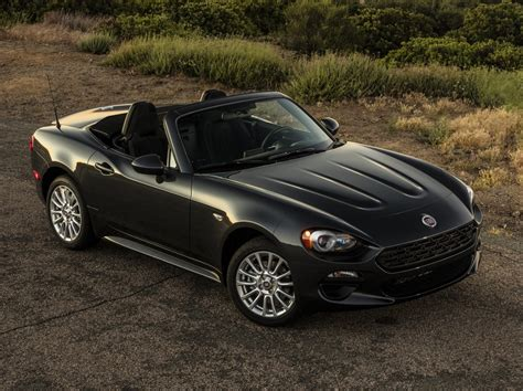 fiat roadster 2017 fiat 124 spider sets foot on american soil
