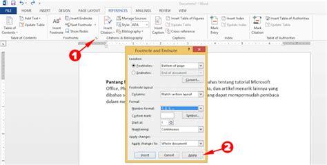 cara membuat footnote di email cara membuat footnote di microsoft word mudah dan gak ribet
