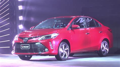 toyota vios 2017 toyota vios facelift officially launched in