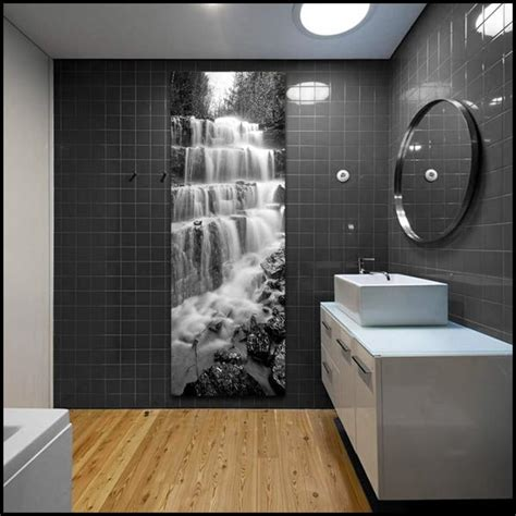 Black And Silver Bathroom by Quot Silver Staircase Falls Quot Montana Black White Vertical