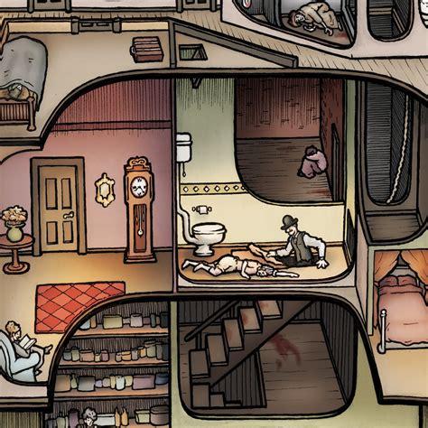 hh holmes house making the h h holmes murder castle carden illustration