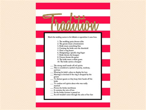 free printable bridal shower game why do we do that free red gold glitter bridal shower games magical printable