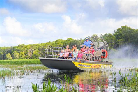 airboat near orlando wild florida airboats and gator park airboat tours and