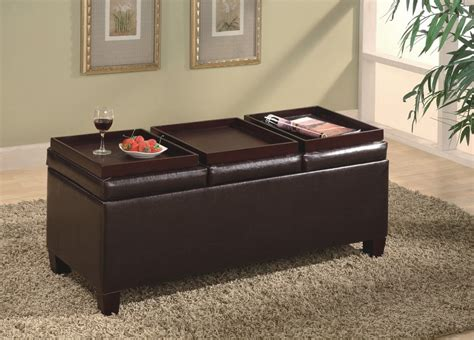 Ottoman With Tray Top Awesome Ottoman With Tray And Storage House Plan And Ottoman