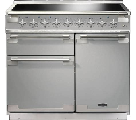 electric induction range cookers buy rangemaster elise 100 electric induction range cooker stainless steel chrome free