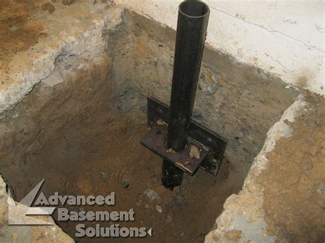 sinking foundations advanced basement solutions