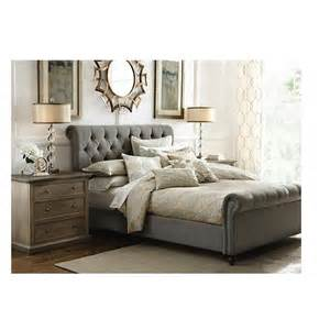 Grey Sleigh Bed Home Decorators Collection Gordon Grey King Sleigh Bed 2309805270 The Home Depot