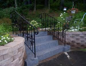outdoor handrails outdoor railings wrought iron works