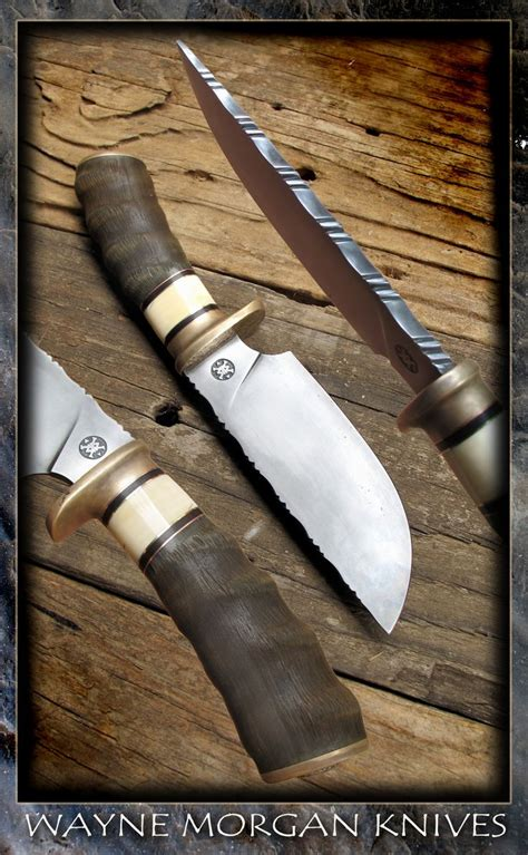 wayne knives 17 best images about knife file work on manche