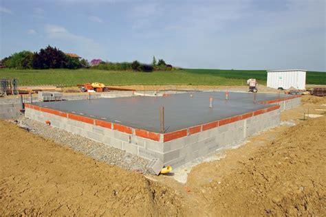 fundament für haus ohne keller welcher beton f 252 r fundament ej68 hitoiro