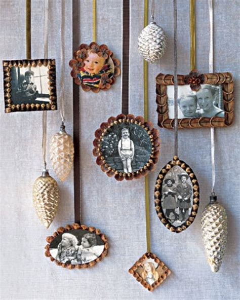 diy picture frame ornaments diy pinecone picture frames 187 hill city virginia