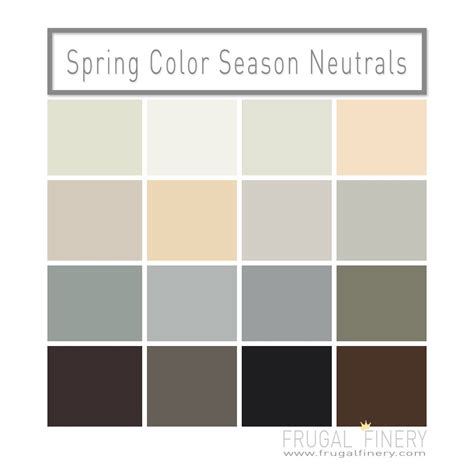 neutral colors neutral colors for the color season a mix of
