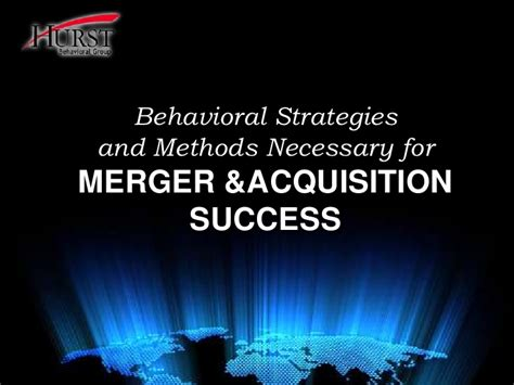 Merger And Acquisition Book For Mba by Hurst Mergers Acquisitions
