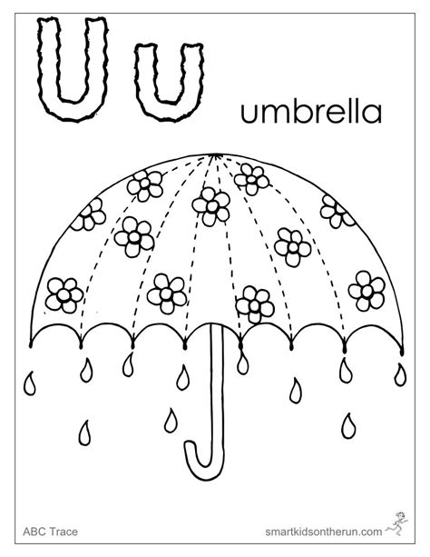 Letter u coloring pages to download and print for free U Coloring Page