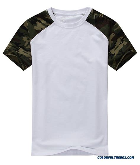 Army T Shirt Pull cheap casual camouflage t shirt cotton army