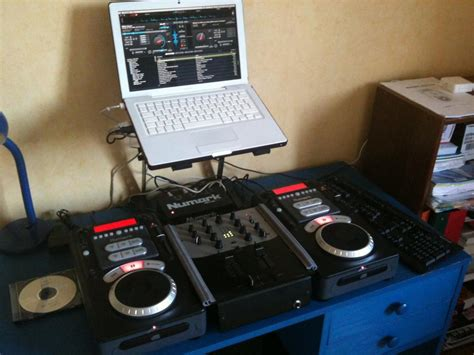 dj software album home studio set up