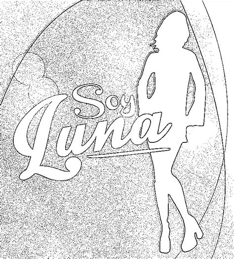imagenes para colorear soy luna dibujos de soy luna para colorear mi barquito