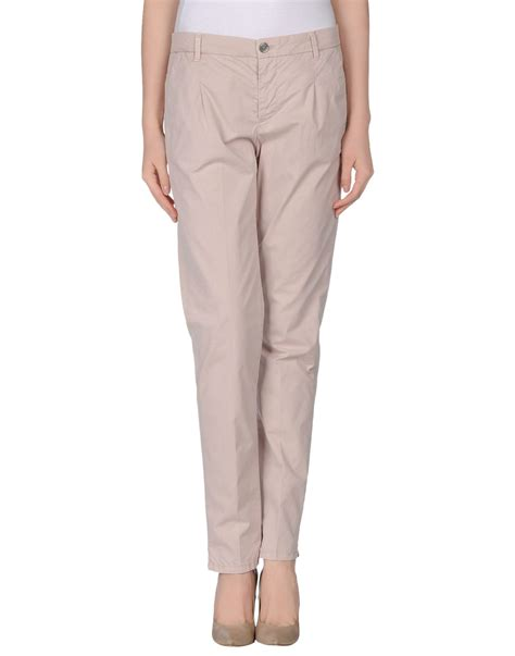 Good Mood Casual Trouser In Pink Light Pink Lyst