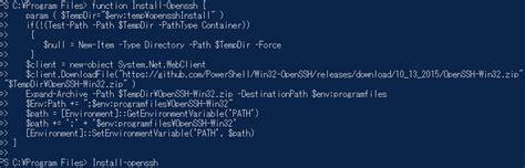 Shell Mba Program by Windowsでopensshを使ってsshサーバーの起動と接続をする方法 Powershell編 Qiita