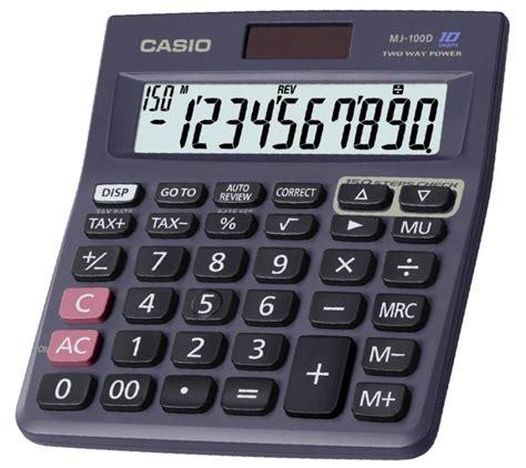 Kalkulator Casio Seri Financial casio mj 100d casio pocket computers calculators