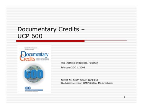 Letter Of Credit Ucp 600 Pdf dc ucp 600 for lc