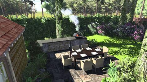 garden in the kitchen cedar nursery 3d landscape design woodland kitchen in