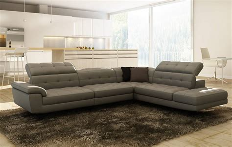 leather contemporary sofa contemporary italian leather sectionals birmingham