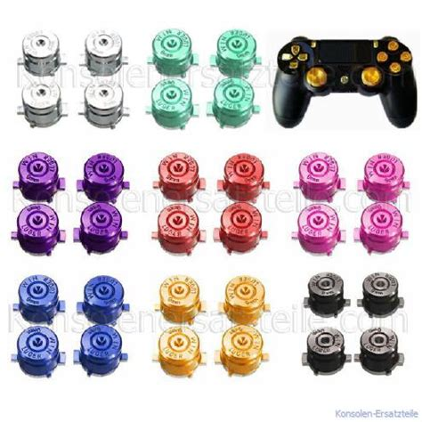 quadrat knopf controller bullet buttons metall f 252 r ps4 controller farbwahl