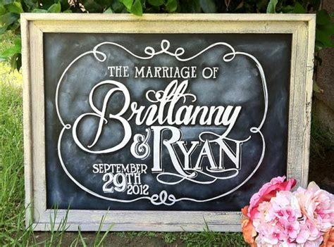 painting chalkboard signs 7 amazing wedding chalkboard signs bravobride